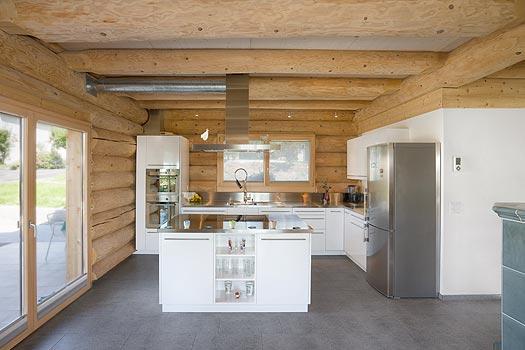 Interieur In Weis Und Marmor Blockhaus Bilder Images. Beautiful ...
