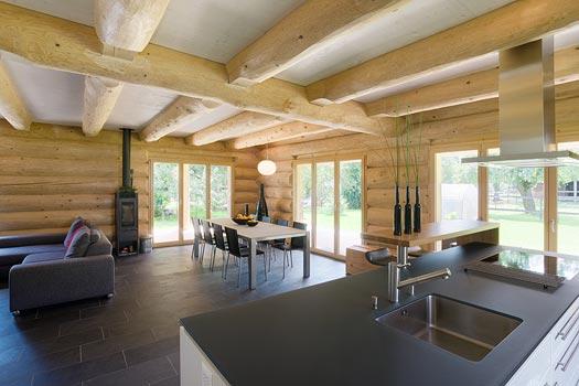 Blockhaus innen modern die neuesten innenarchitekturideen for Haus modern innen